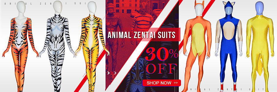 Animal Zentai Suit