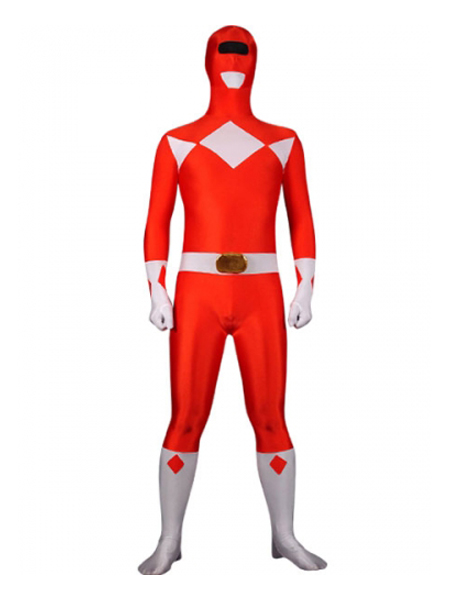Mighty Morphin Red Power Ranger Costume