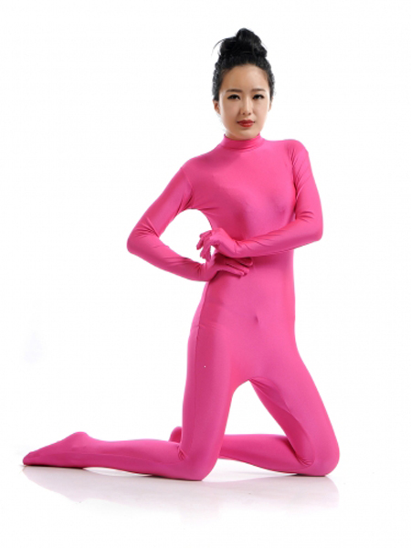 Pink Tight Fullbody Lycra Spandex Zentai Suits