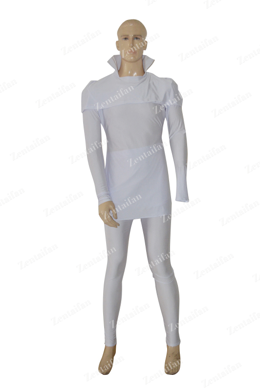 2014 New Style Buck Rogers Custom White Superhero Costume