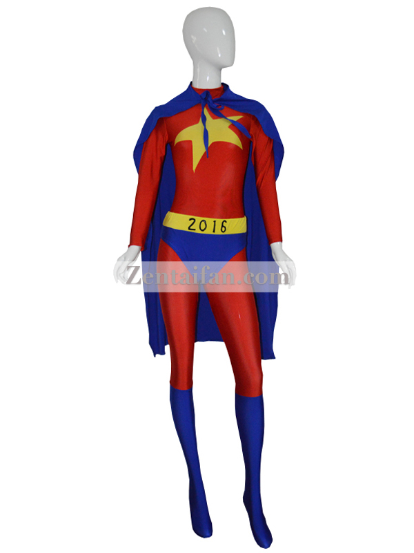 2016 Custom Made Star Girls Superhero Costum