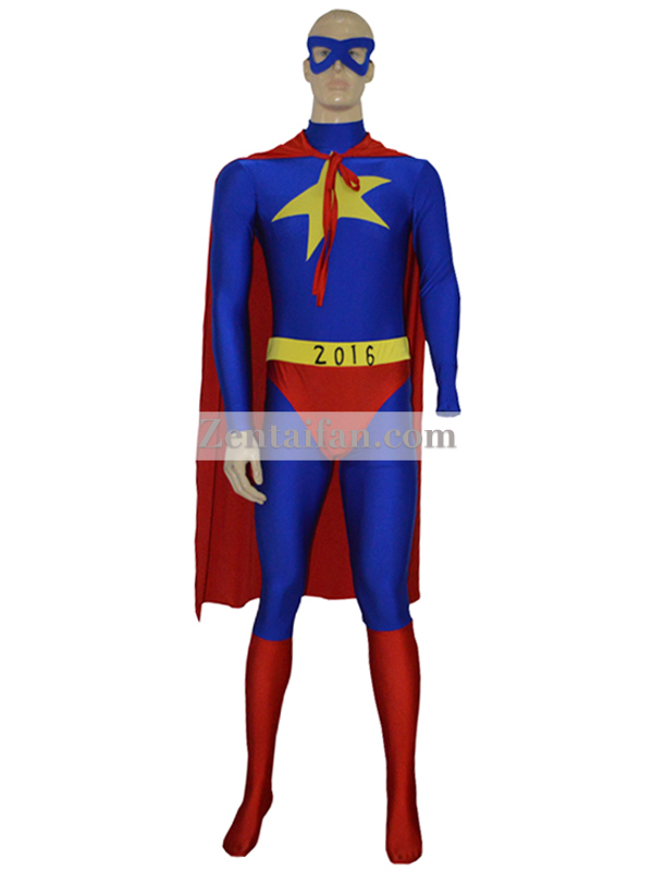 2016 Custom Star Mens Superhero Suit