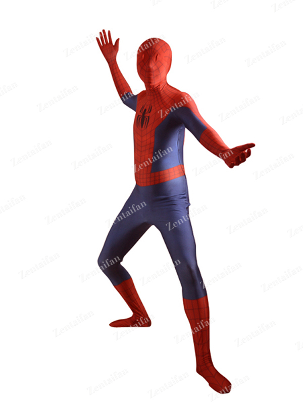 3D Pattern Ultimate Spider-Man Costume