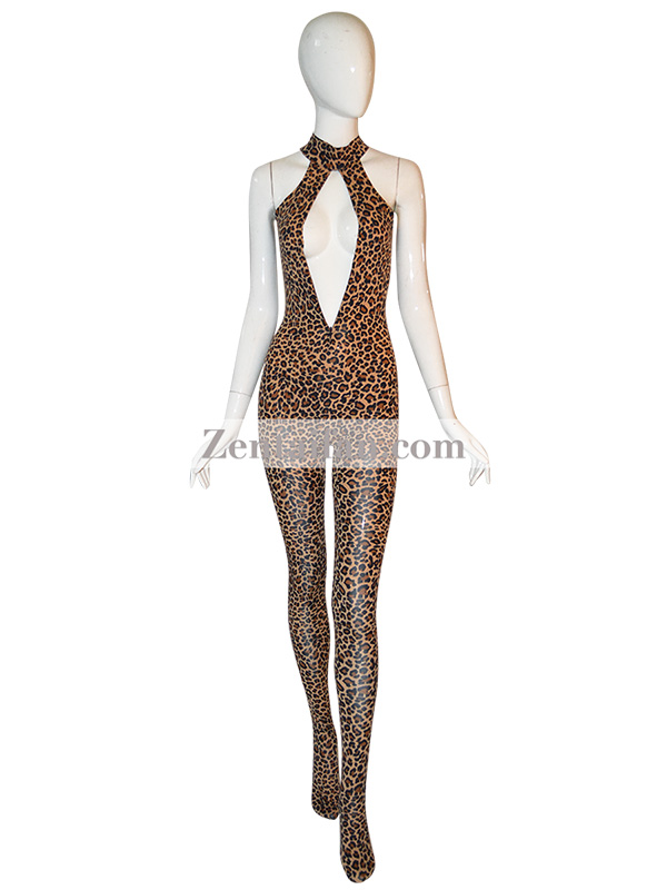 Animal Suit Sexy Leopard Catsuit Animal Zentai