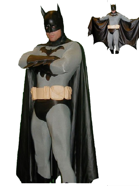Batman Spandex Superhero Costume