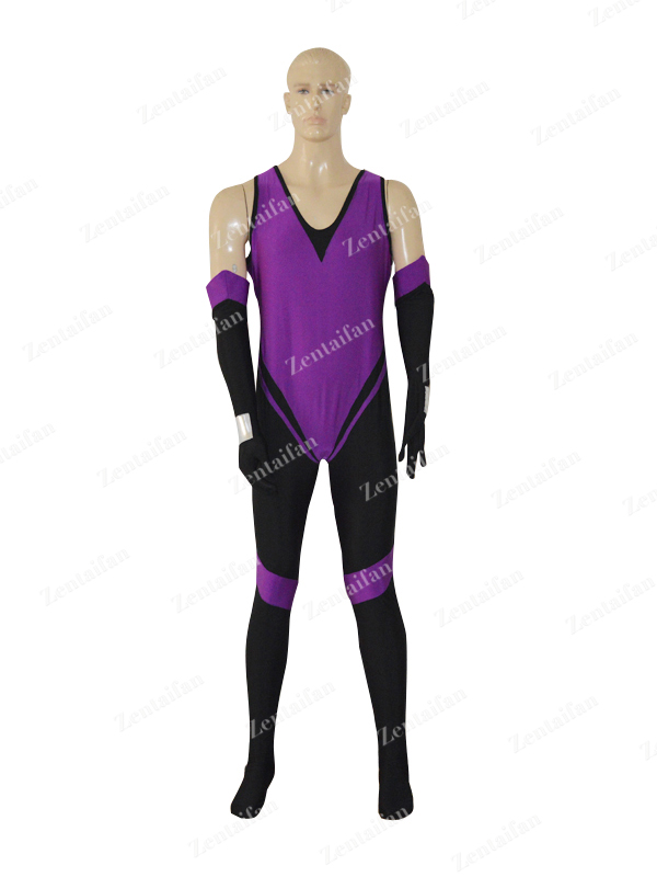 Black & Purple Customer Custom Superhero Costume