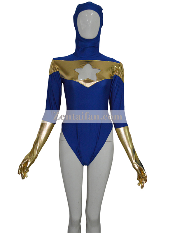 Booster Gold Custom Spandex Jumpsuit