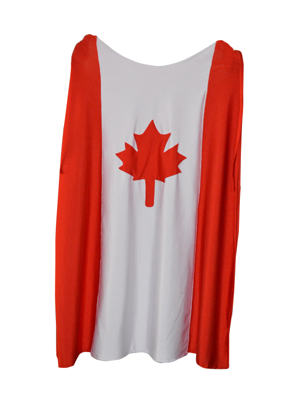 Canada Flag Custom Spandex Cape