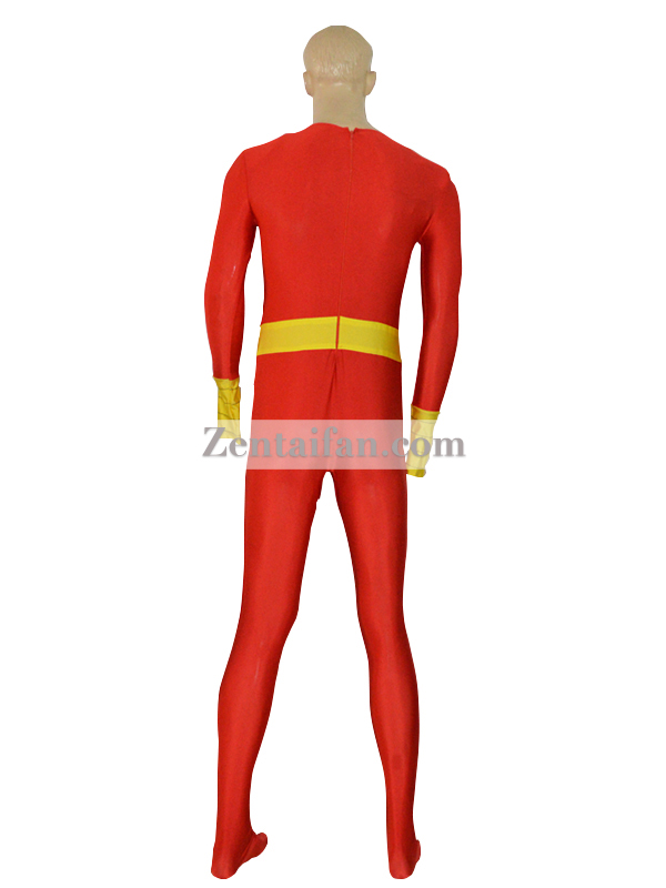 Captain Marvel Custom Spandex Superhero Costume