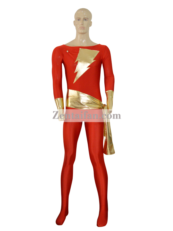 Captain Marvel Custom Superhero Costume