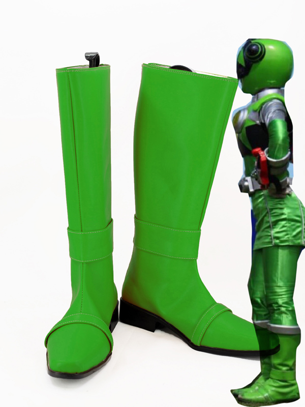 Chameleon Green Cosplay Shoes Hammie Cosplay Boots