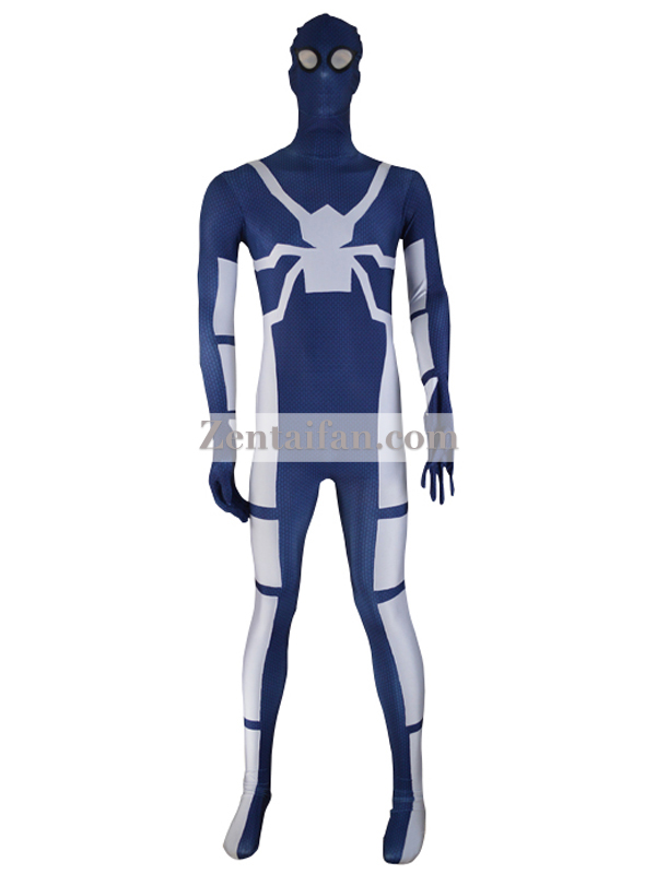 Custom Future Foundation Spider-Man Costume