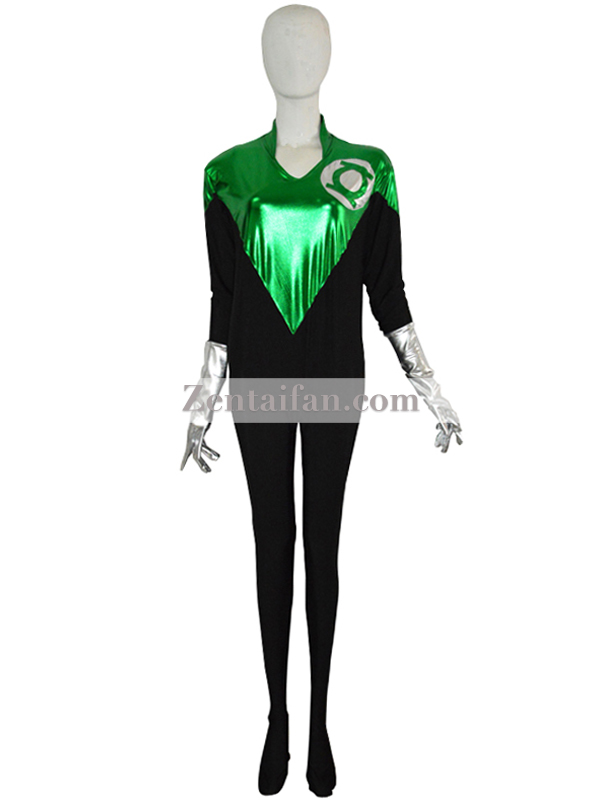 Custom Green Lantern Female Superhero Costume