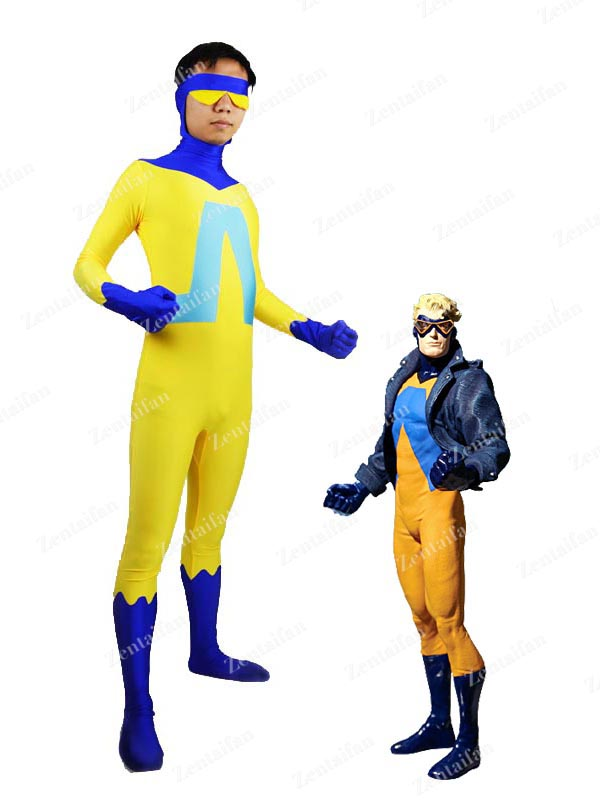 DC Comics Animal Man Spandex Superhero Zentai Suit