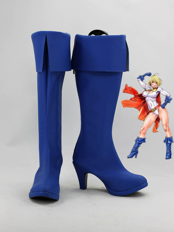 DC Comics Power Girl Superhero Boots
