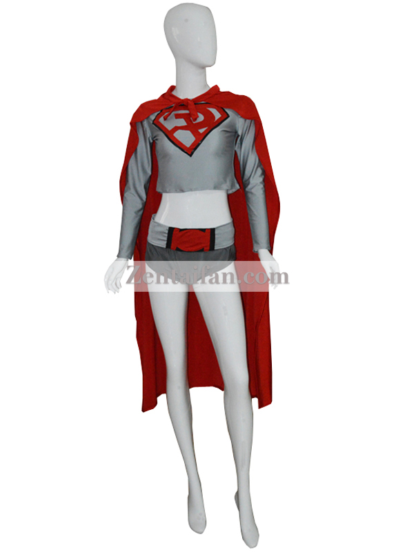 DC Comics Red Son Superman Spandex Superhero Leotards