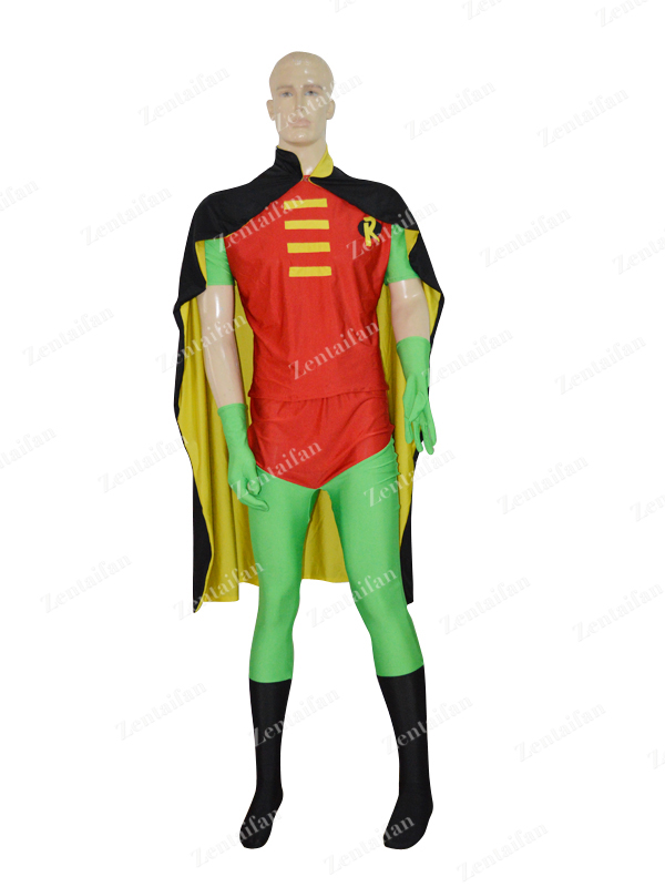 DC Comics Robin Powerful Two-pieces Custom Superhero Costume