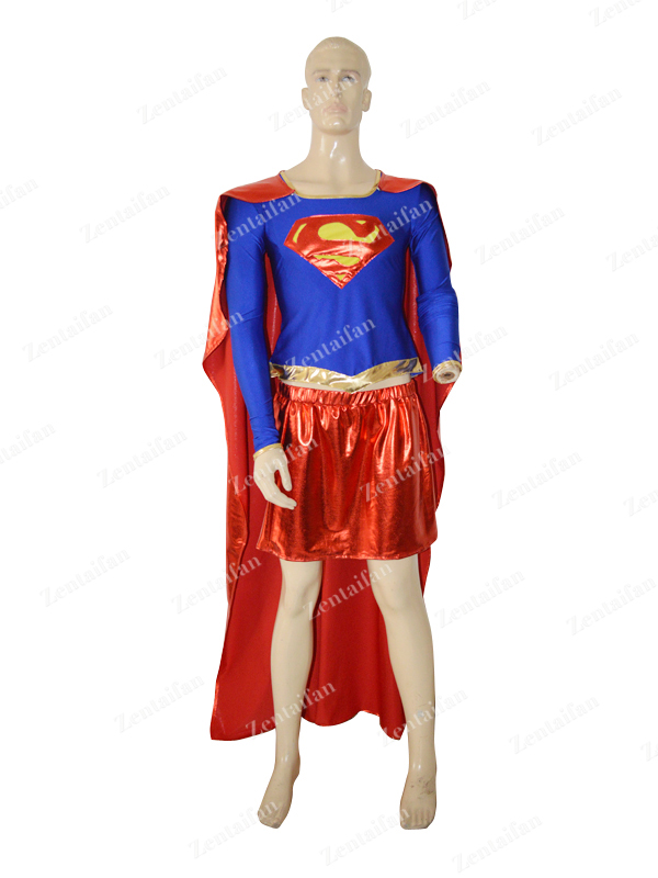 DC Comics Supergirl Two-pieces Superhero Costume