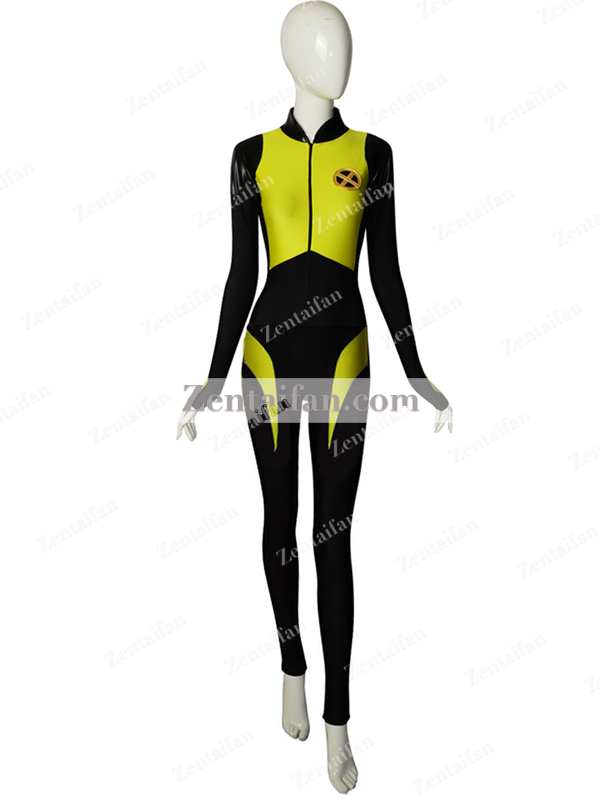 Deadpool 2 Negasonic Teenage Warhead Spandex Superhero Costume