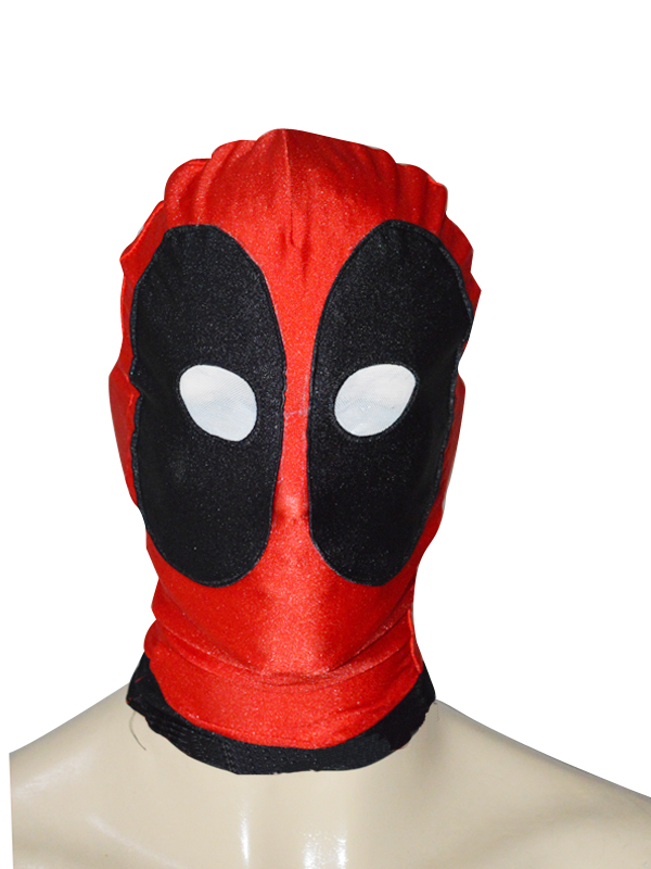 Deadpool Spandex Hood with Round Eyes