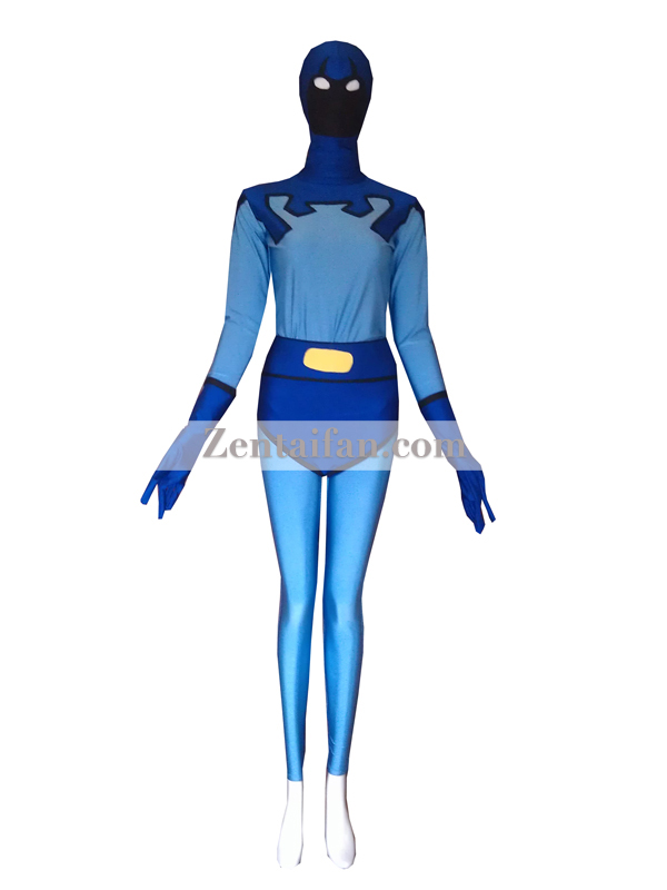 Female Version Blue Beetle Superhero Costume