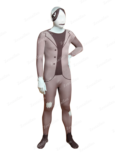 Funny Tortoise Face Business Suit Halloween Zentai Suit