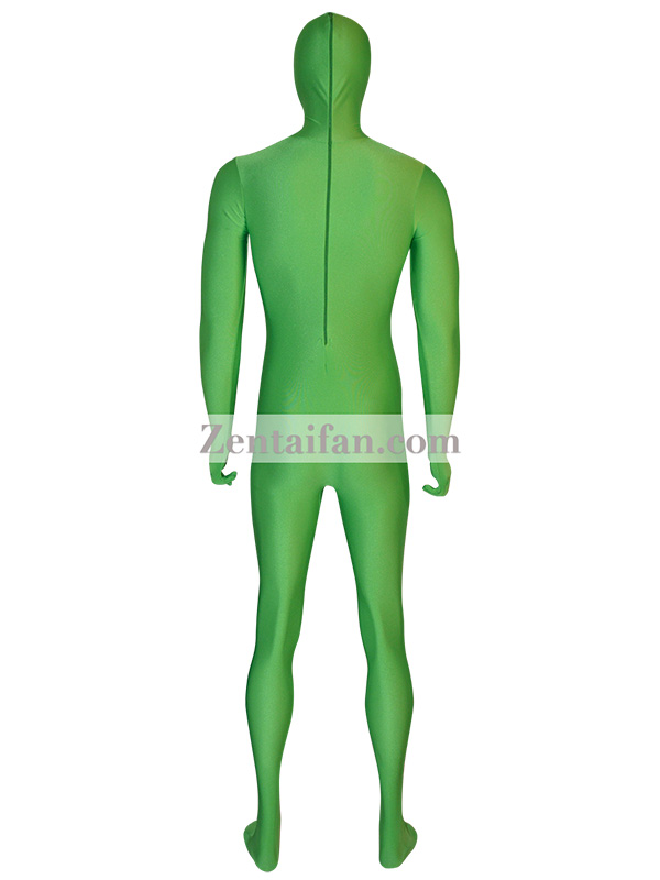 Green Alien Spandex Zentai Suit
