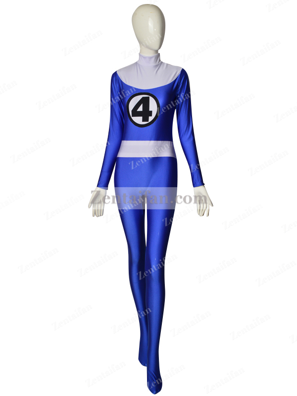 Invisible Woman Fantastic Four Susan Storm Superhero Costume