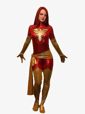 Dark Phoenix X-men Superhero Costume