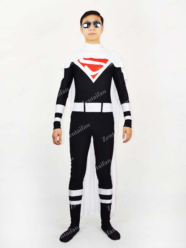 Justice Lords Superman Spandex Superhero Costume