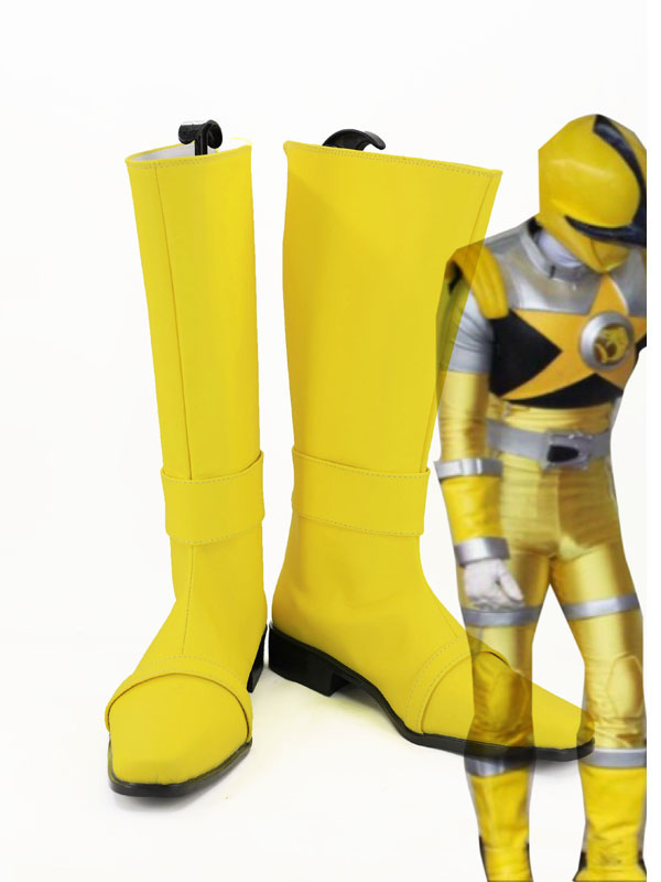Kajiki Yellow Cosplay Shoes Spada Yellow Cosplay Boots