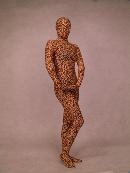 Leopard Pattern Full body Spandex Zentai Suit