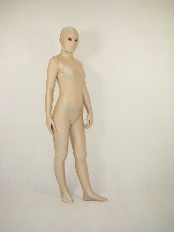 Lycra Spandex Flesh Color Zentai Suit