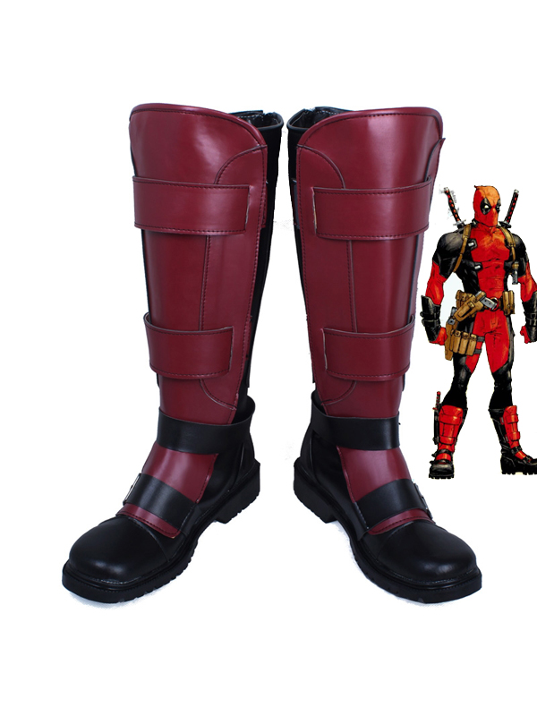 Marvel Comics Deadpool Wade Wilson Custom Superhero Boots