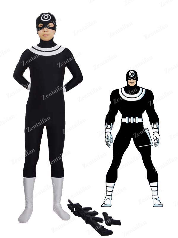 Marvel Comics Super Villain Bullseye Spandex Zentai Suit