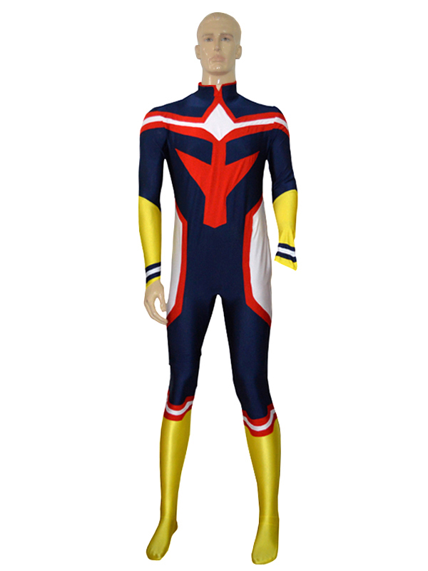 My Hero Academia All Might Custom Cosplay Costume zentai suit