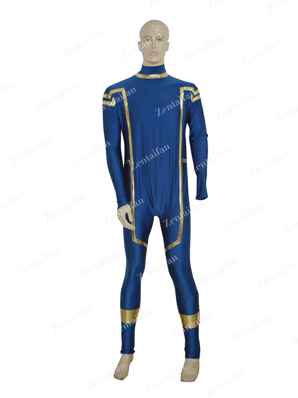 Navy Blue X-Men Cyclops Superhero Costume