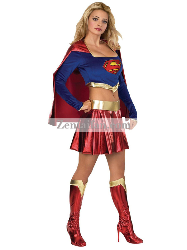 DC Comics Original Super Girl Superhero Costume