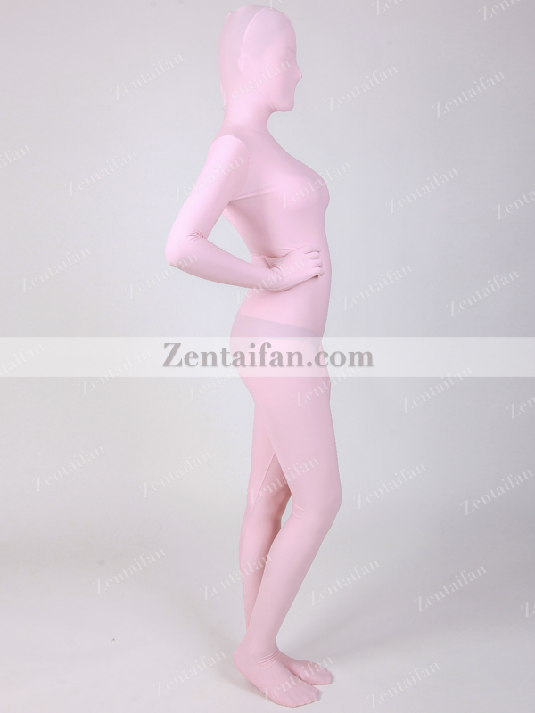 Pink upgraded Spandex Full Body Sexy Zentai suit