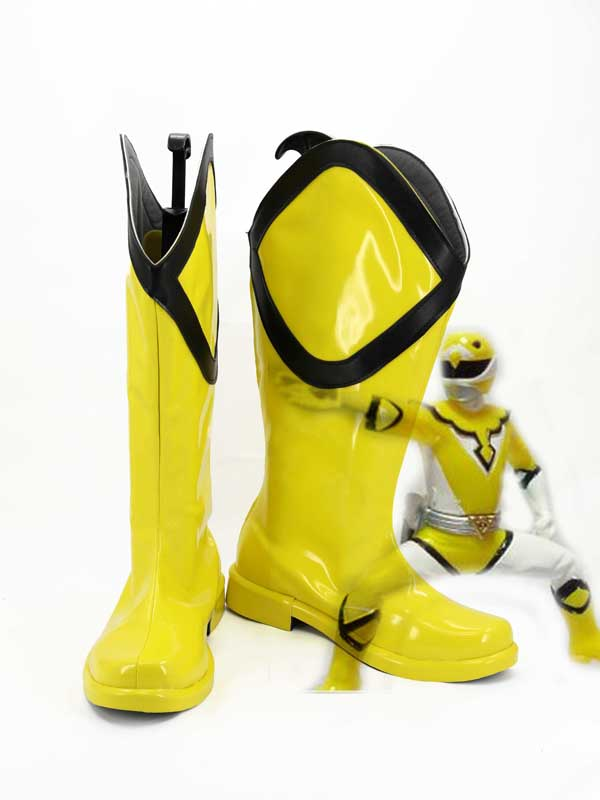 Power Rangers Yellow Ranger Trini Cosplay Shoes