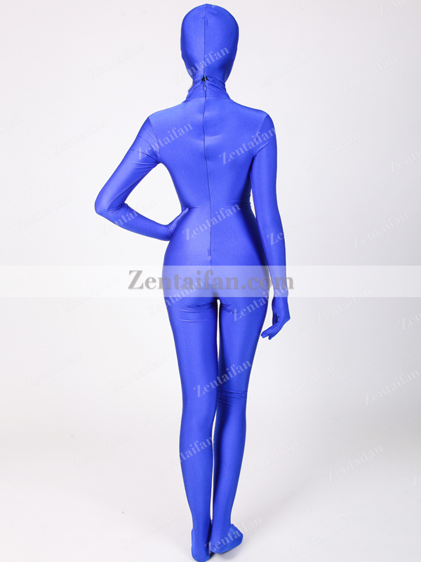Royal Blue upgraded Spandex Full Body Zentai suit