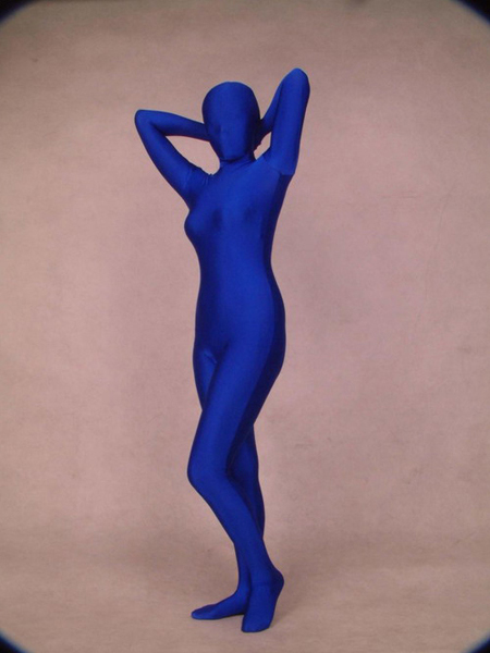 Royalblue Full Body Spandex Zentai suit