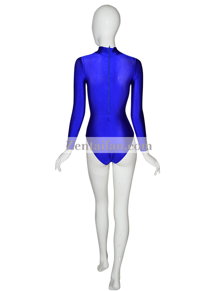 Royalblue Suit Sexy Zentai Leotard Catsuit