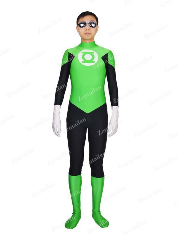Spandex DC Comics Superhero Green Lantern Superhero Costume