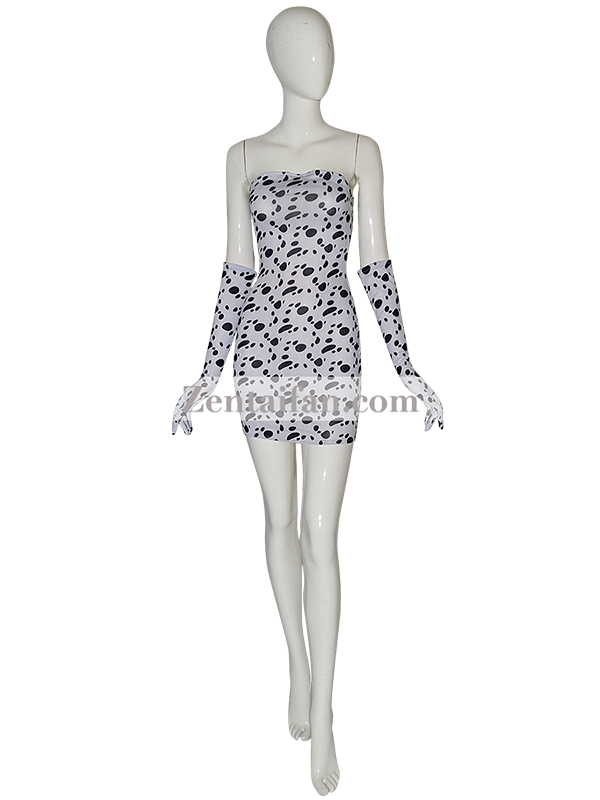Stain Dog Sexy Zentai Dress