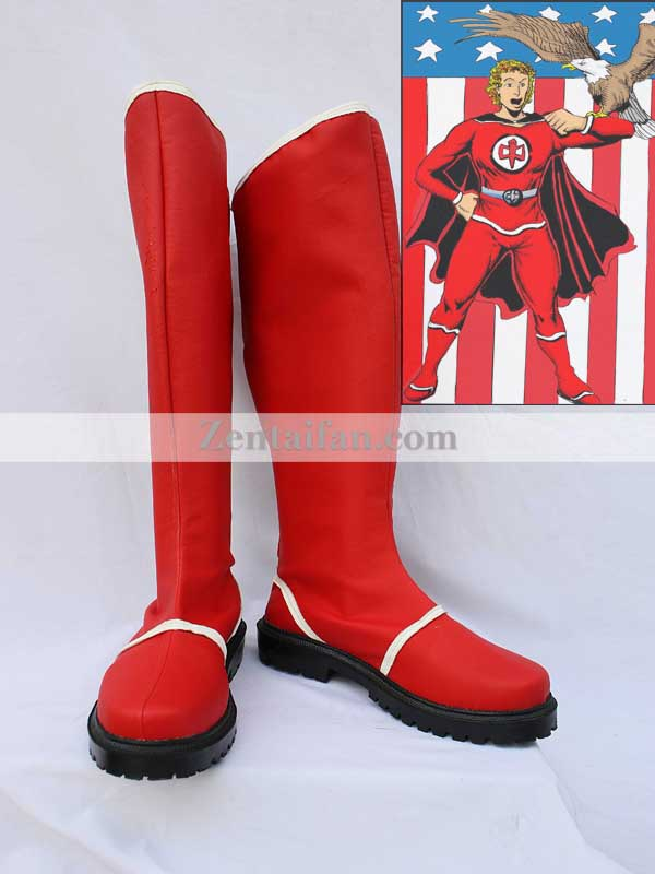 The Greatest American Hero Red Cosplay Boots