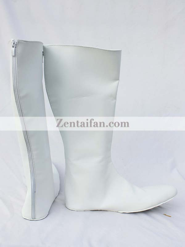 The Incredibles Frozone White Cosplay Boots
