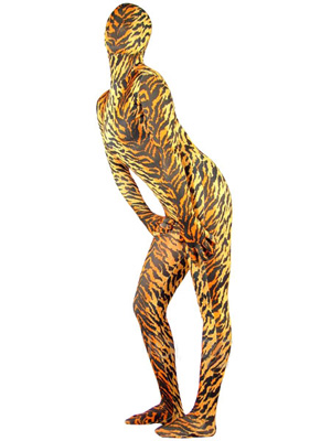 Tiger Lycra Spandex Full Body Zentai Suit