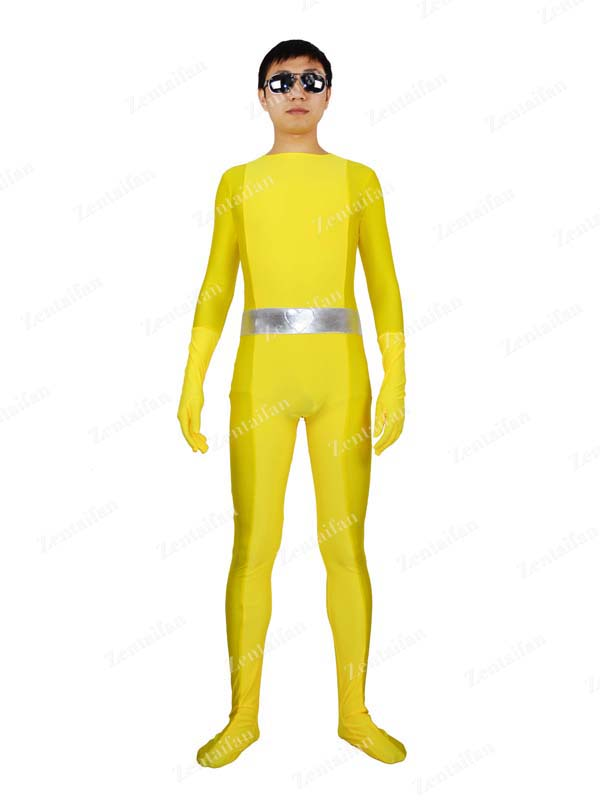 Totally Spies! Yellow Spandex Superhero Costume