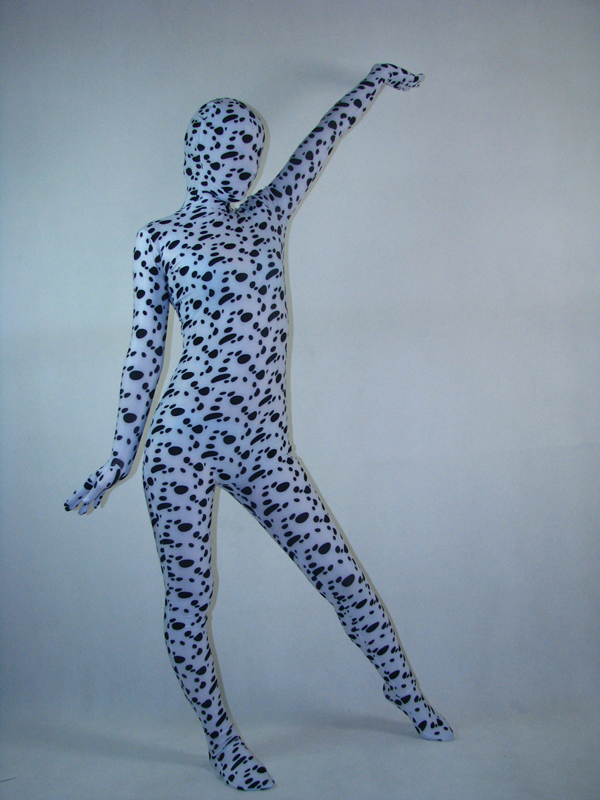 Unisex Stain Dog Full Body Spandex Zentai Suit